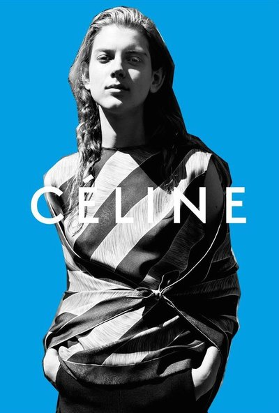 Ally Ertel - Ph: Zoe Ghertner for Celine Pre-Fall 2015