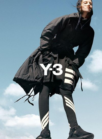 Florence Kosky - Ph: Harley Weir for Y-3 F/W 15