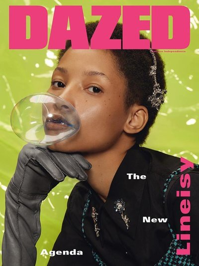 Lineisy Montero - Ph: Roe Ethridge for Dazed & Confused Fall 2015