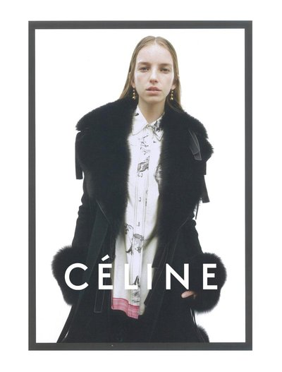 Jamilla Hoogenboom - Ph: Juergen Teller for Celine F/W 15