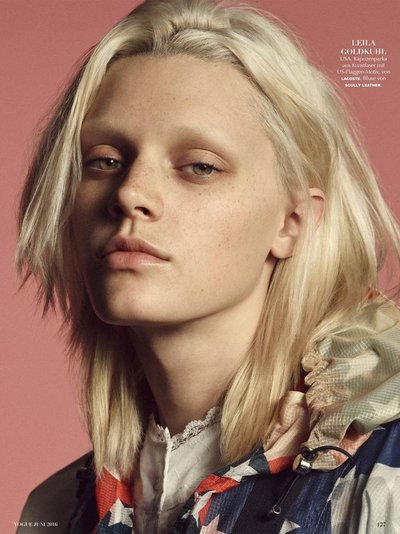 Leila Goldkuhl - Ph: Luigi & Iango for Vogue Germany June 2016