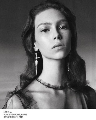 Lorena Maraschi - Ph: David Sims for Valentino S/S 17