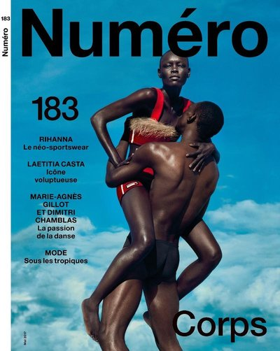 Grace Bol - Ph: Txema Yeste for Numero May 2017