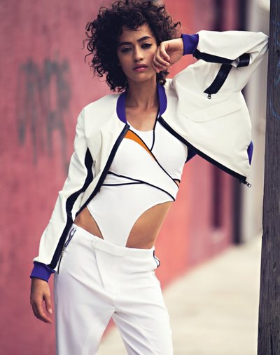 Alanna Arrington - Ph: David Bellemere for Vogue Russia