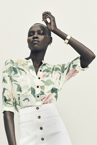 Grace Bol - Ph: Nicolas Kantor for Ann Taylor Spring 2016