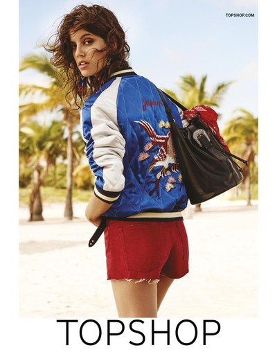 Antonina Petkovic - Ph: Giampaolo Sgura for Topshop S/S 16