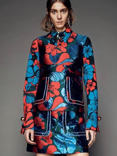 Phillipa Hemphrey - Ph: for Marni Pre Fall 2015
