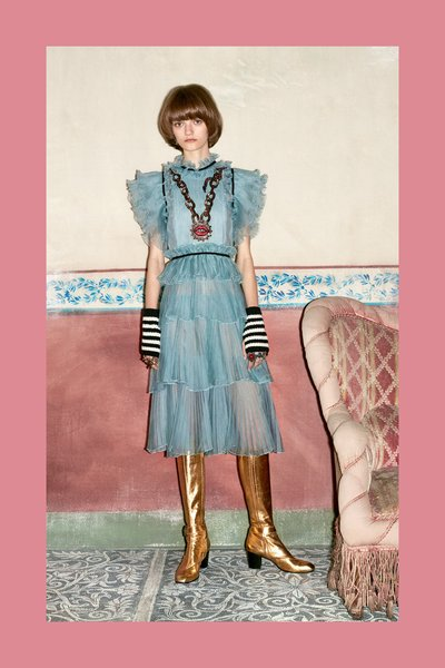 Peyton Knight - Ph: Ari Marcopoulos for Gucci Pre Fall 2016