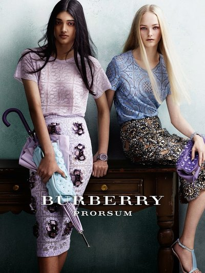 Neelam Gill - Ph. Mario Testino for Burberry