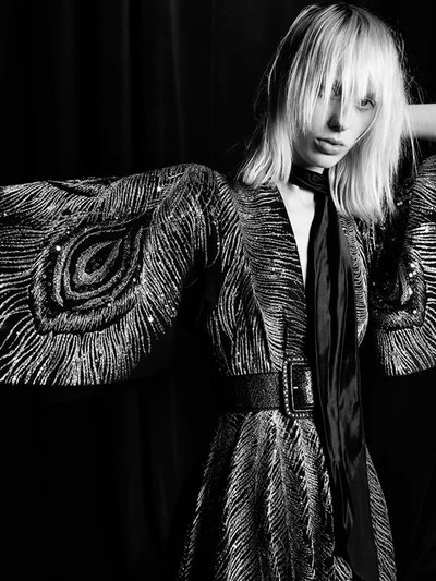 Lili Sumner - Ph: Hedi Slimane for Saint Laurent Spring 2016