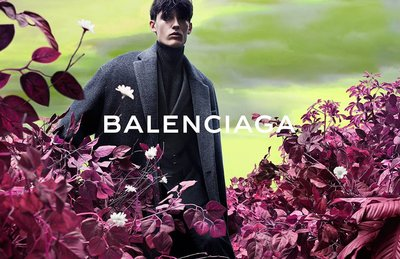 Dzhovani Gospodinov - Ph: Josh Olins for Balenciaga F/W 14 Men's Campaign