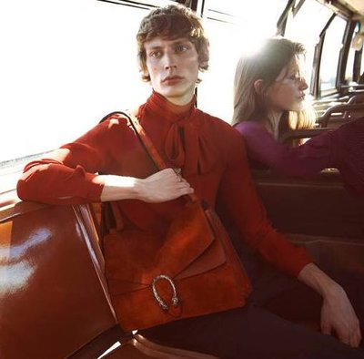 Tobias Lundh - Ph: Glen Luchford for Gucci Fall 2015