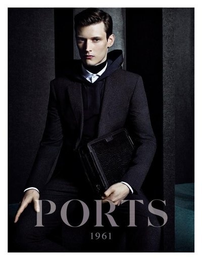 Adam Butcher - Ph: Craig McDean for Ports 1961 F/W 14
