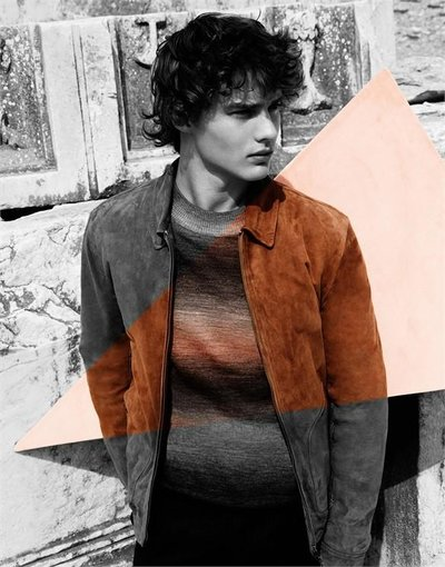 Justin Barnhill - Ph: Vivianne Sassen for Missoni F/W 14