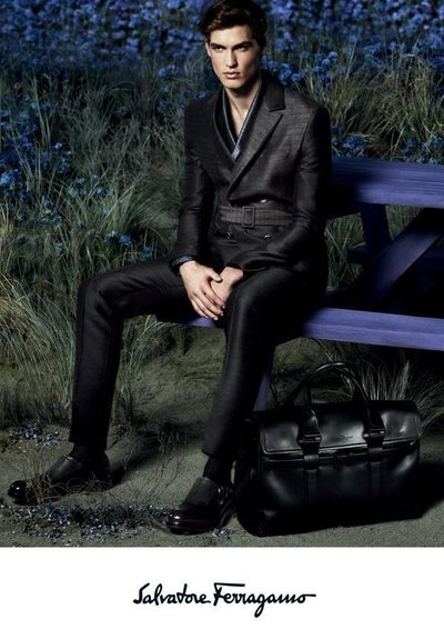 Jason Anthony - Ph: Mert and Marcus for Ferragamo F/W 14