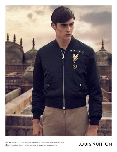 Rhys Pickering - Ph: Peter Lindbergh for Louis Vuitton S/S 15