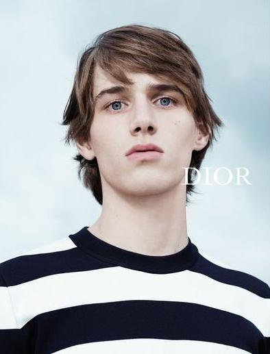Louis Bauvir - Ph: Willy Vanderperre for Dior Homme Spring 2015