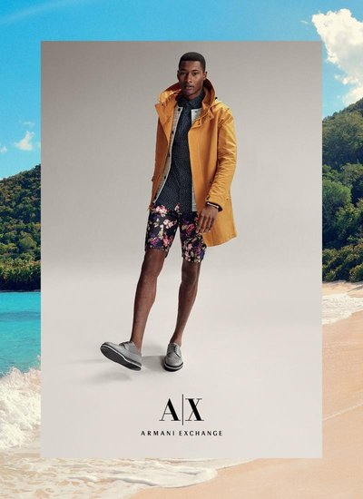 Jourdan Copeland - Ph: Cass Bird for Armani Exchange S/S 15