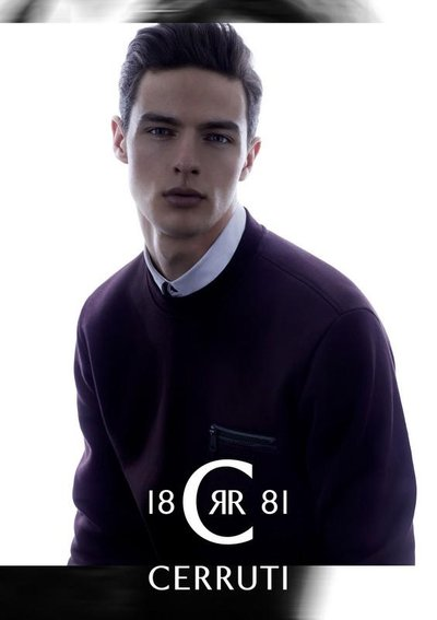 Hannes Gobeyn - Ph: for Cerruti 1881 F/W 15