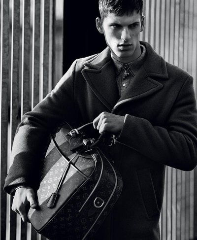 David Trulík - Ph: Alasdair McLellan for Louis Vuitton F/W 15