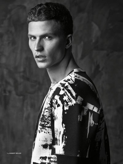 Nathaniel Visser - Ph: Greg Swales for Archetype Magazine