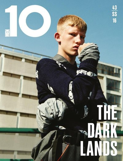 Connor Newall - Ph: Julia Noni for 10 Men Spring 2016