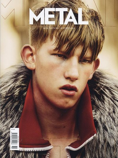 Connor Newall - Ph: for Metal Autumn/Winter 2016