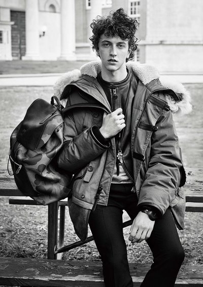 Niels Trispel - Ph: Steven Meisel for Coach F/W 15