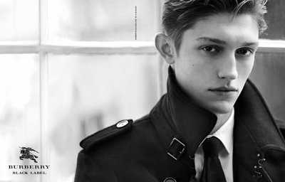 Callum Ball - Ph: Kacper Kasprzyk for Burberry Black F/W 13