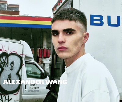 Diego Villarreal - Ph: Steven Klein for Alexander Wang S/S 16