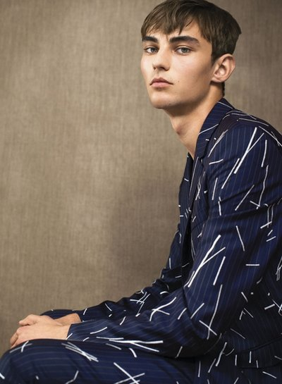 Max Esken - Ph: Arno Frugier for Wallpaper Magazine January 2015