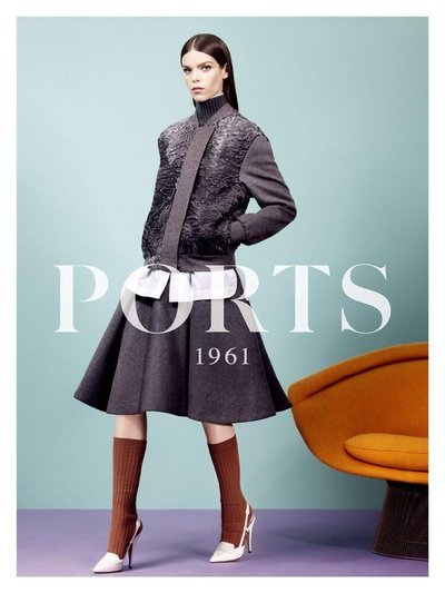 Meghan Collison - Ph: Craig McDean for Ports 1961