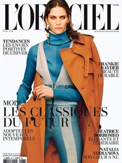 Frankie Rayder - L'Officiel August 2014 Cover