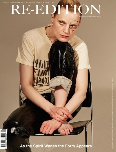 Guinevere Van Seenus - Ph: Collier Schorr for ReEdition Spring 2015