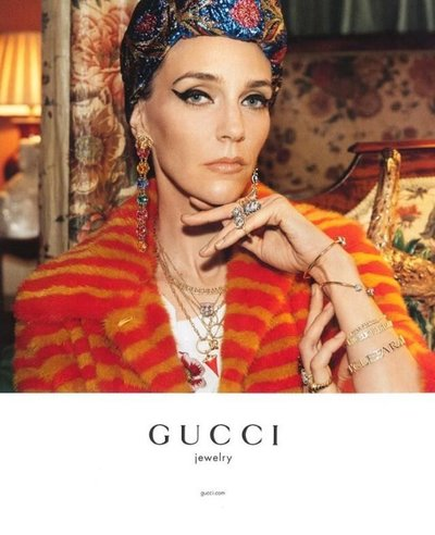 Hannelore Knuts - Ph: Glen Luchford for Gucci 2016
