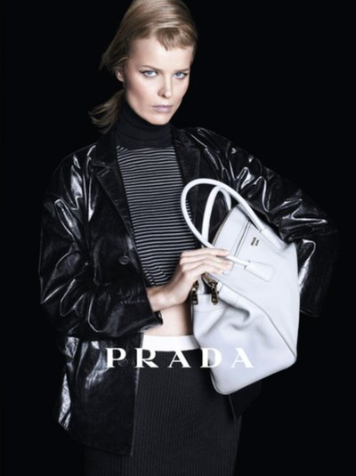 Eva Herzigova - Ph: Steven Meisel for Prada SS13