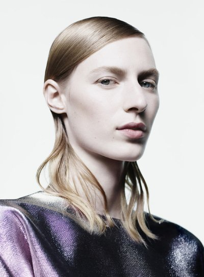 Julia Nobis - Ph: Willy Vanderperre for Jil Sander F/W 16