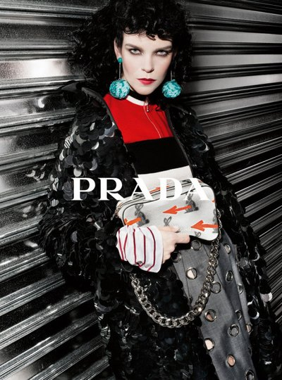 Meghan Collison - Ph: Steven Meisel for Prada Resort 2016