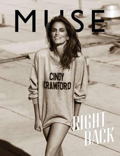 Cindy Crawford - Muse Magazine Summer 2013 Cover by Mariano Vivanco