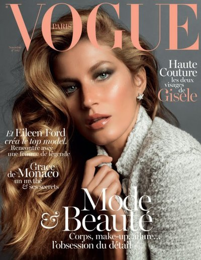 Gisele Bundchen - Ph: Inez van Lamsweerde & Vinoodh Matadin for Vogue Paris