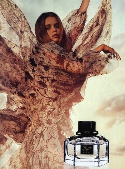 Abbey Lee - PH: Inez van Lamsweerde and Vinoodh Matadin for Flora Gucci Fragrance 2010