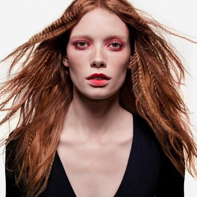 Julia Hafstrom - Ph: Inez and Vinoodh for Sephora S/S 17