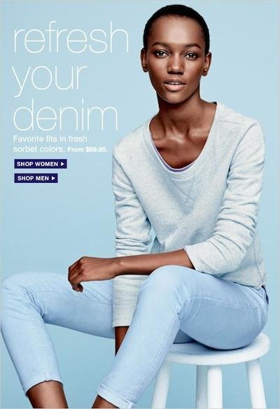 Herieth Paul - Ph: Daniel Jackson for Gap Spring 2014