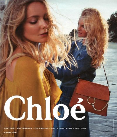 Eniko Mihalik - Ph: Inez & Vinoodh for Chloe S/S 15