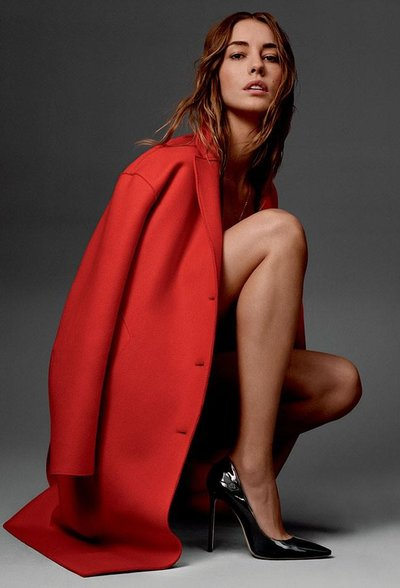 Nadja Bender - Ph: Cass Bird for Jimmy Choo Pre Fall 2016