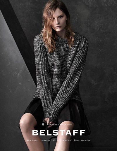 Sara Blomqvist - Ph: Joel Griffith for Belstaff Pre Fall 2014