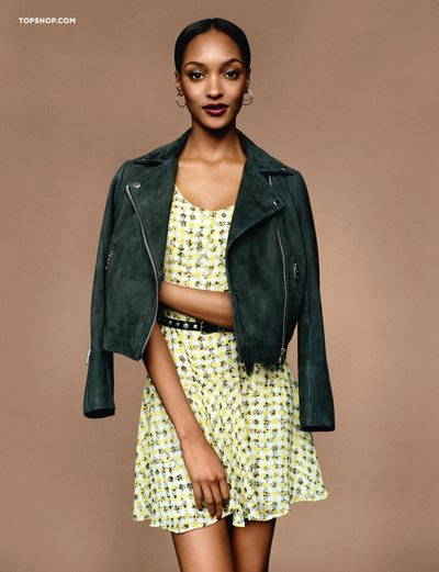 Jourdan Dunn - Ph: Alasdair McLellan for Topshop Spring 2014
