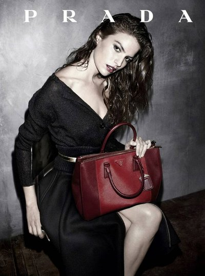 Cameron Russell - Ph. Steven Meisel for Prada