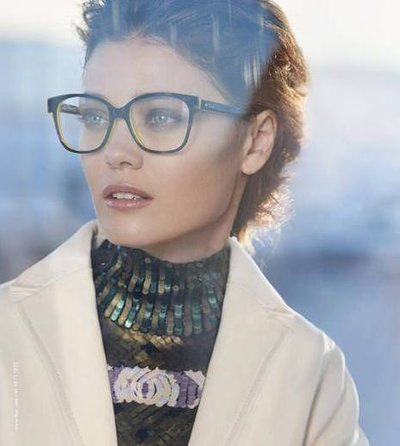 Diana Moldovan - Ph. Peter Lindbergh for Dior Eyewear 2015