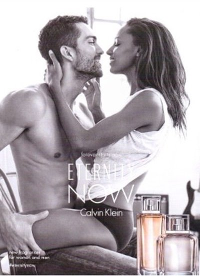 Jasmine Tookes - Ph: Cass Bird for Calvin Klein Eternity Now Fragrance 2015